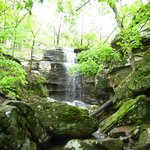 Burden Falls nearby