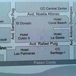 La Karina 2 Tenerife next to Hotel Vulcano. On tripadvisor map it's not placed corectly.