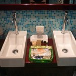 two sinks