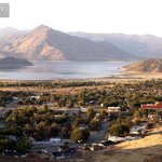When Lake Isabella is low.
