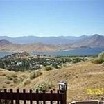 Lake Isabella in the summer of 2010.