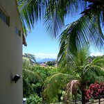 Vista desde el hotel.