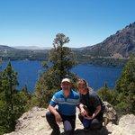 Vista desde los alredeores del hotel al lago