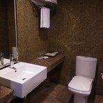 バスルームは広くて使いやすい
