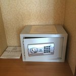 Newly installed in-room Safety Deposit Box