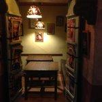 Interieur petit restaurant Chilimosa Tarifa