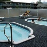 Two Outdoor Hot Tubs