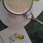 Cafe con leche de Bisquets de Obregon
