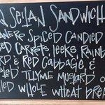 BBQ Seitan Sandwich