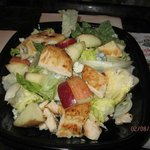 Grilled chicken, cranberry, Apple Salad