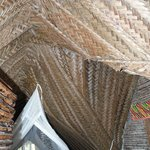 Weaved roof