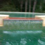 solarium de la piscina