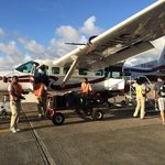The hopper flight you take from Belize City to Dangriga