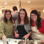 Two wonderful chefs with our master Chef Jodi