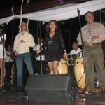Live Dominican Band on the ship