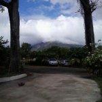 Vistas del volcan desde zona parking