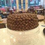 Homemade malteser cake
