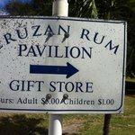Cruzan sign