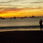 Atardecer en la playa San Juan del Sur
