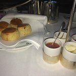 Scones at the afternoon tea
