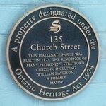 Legacy House - Heritage Designation Plaque