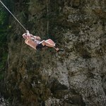 Waterfall Rope Swing
