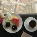 Breakfast in 78th floor