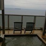 Ocean view spring in room