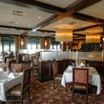 THe dining room is lovely and quiet enough for romantic conversation, even when crowded.