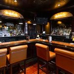 The bar is just amazing--warm and inviting!