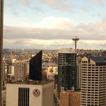 Gorgeous vie on downtown Seattle and the space needle