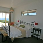 Queen Bedrooms are spacious with stunning views.