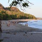 Montezuma beach, left side