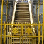 Holy 18 steps to the Lord Ayyappa