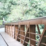 bridge to the resturant