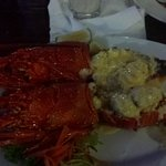 2 small lobsters instead of 1 large one :-0