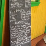 Luch menu - try the Fungl or Ducana
