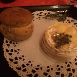The baked Camembert - delicious!!