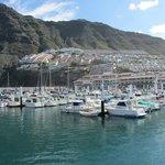 Ausblick vom Hafen