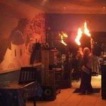 BELLY DANCER - FIRE - DECOR