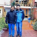 With Mr Sarwar Hussain