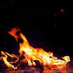 BREAK PLATES & DANCE - FIRE