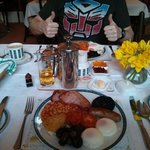 now that's what you call an English breakfast!