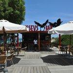 Bar vicino alla spiaggia