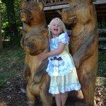 With the Goldilocks bears!