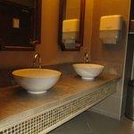 Men's toilets in hotel