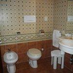 Spazioso bagno