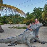 John and Sheryl wanta iguana
