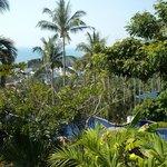 Blick von Topmost-Villa