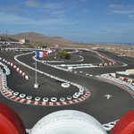 Our fabulous hillside track in Lanzarote